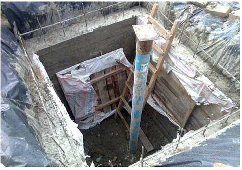 Монолитный колодец залить бетоном своими руками