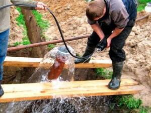 Преимущества скважины на воду
